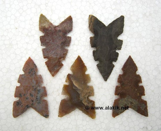 Picture of Neolithic Arrowhead with 6 nodge