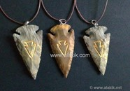 Picture of Engrave Arrowhead Necklace