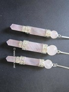 Picture of Rose Quartz 3pc Small Wand Pendulum