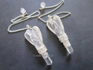 Picture of Crystal quartz Angel Pendulum