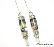 Picture of Chakra Bottle Pendulum with Floating Chakra chips