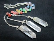 Picture of Natural Pencil with Chakra chain pendulum