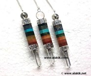 Picture of 3pc Bonded Chakra pendulum