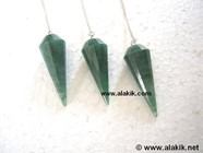 Picture of Green Aventurine Facetted Pendulum
