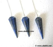 Picture of Lapis Lazuli Faceted Pendulum