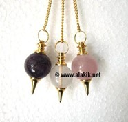 Picture of RAC Golden plated Ball pendulum