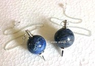 Picture of Sodalite Ball Pendulum