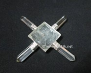 Picture of Crystal Quartz Pyramid Energy Generator