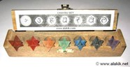 Picture of Chakra Merkaba Set with Wooden Box