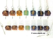 Picture of Chakra Hexagon Pendulum Set