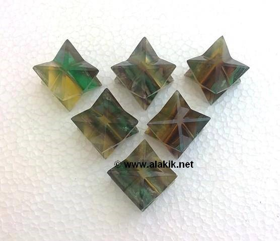 Picture of Multi Flourite Merkaba Star
