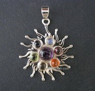 Picture of Chakra Burning Sun Pendant