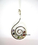 Picture of Chakra Spiral Pendant