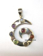 Picture of Chakra G Shape Pendant
