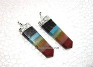 Picture of Bonded Chakra flat stick pendant