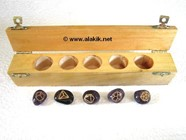 Picture of Amethyst Tumble Simple Geometry Set with w.box