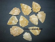 Picture of Golden Quartz Arrowhead