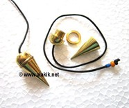 Picture of Golden ring pendulum with cord