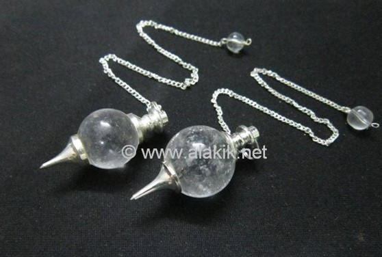 Picture of Crystal Quartz Ball Pendulum