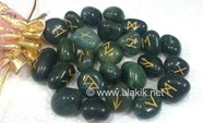Picture of Green Fancy Jasper Rune Set
