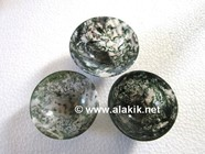 Picture of Moss Agate 3inch Bowls