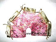 Picture of Satin Pouch Pink (Small)
