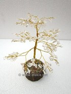 Picture of Crystal Quartz 150bds Gemstone Tree