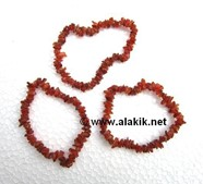 Picture of Red Carnelian Chip bracelets