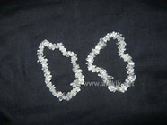 Picture of Crystal Quartz Chip Bracelet