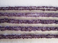 Picture of Amethyst  Chips Beads Strands