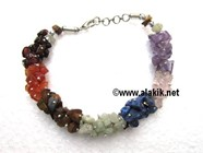 Picture of Chakra Chips Fuse-Wire Bracelet