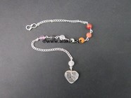 Picture of Chakra Chain with heart for pendulum
