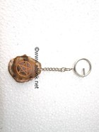 Picture of Agate Slice Pentacle Keyring