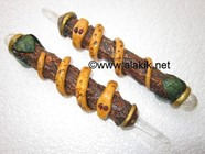 Picture of Tree wood Healing wands with Snake