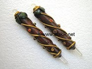 Picture of Tree Wood Stick with 7 Chakra cabs