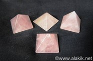 Picture of Rose Quartz Pyramids 23-28mm