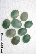 Picture of Green jade cabachones