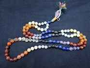Picture of Chakra cotton Notted Japa mala