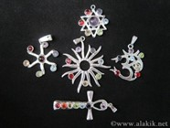Picture of Mix Chakra metal pendants