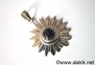 Picture of Third Eye Chakra 925 silver Iolite pendant