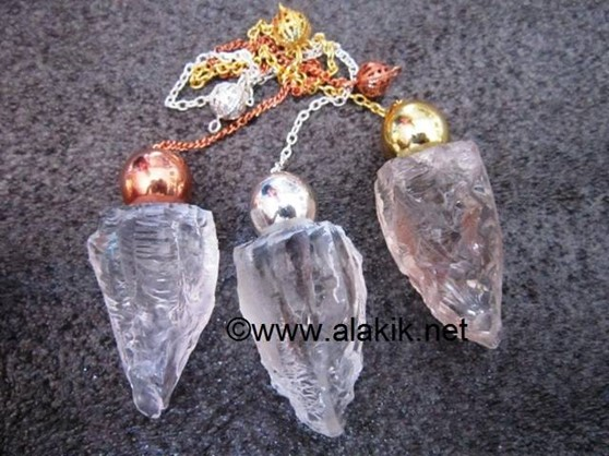 Picture of Raw Crystal Quartz BGS Modular Pendulum