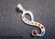 Picture of Chakra Cut Eight Pendant 925 silver