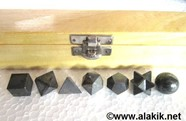Picture of Hematite 7pcs Geometry set with wooden box