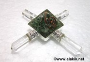 Picture of Green Jade Orgone Pyramid Energy Generator