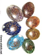 Picture of Chakra Orgone Oval Sets