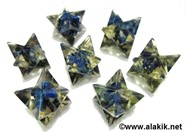 Picture of Lapis Lazule Orgone Merkaba Star