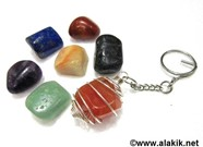 Picture of Chakra Tumble key ring set