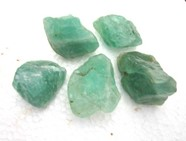 Picture of Raw Green Fluorite Chunks