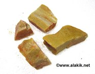 Picture of Yellow jade Raw Chunks