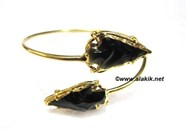 Picture of Black Obsidian Arrowhead bangle